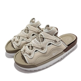Nike 拖鞋 Offline 2.0 卡其 解構 鋸齒底 穆勒鞋 按摩鞋墊 2代 男鞋 【ACS】 CZ0332-201