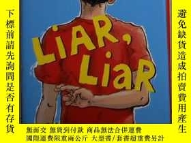 二手書博民逛書店英文原版罕見Liar, Liar by Gary Paulsen