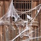 萬圣節鬼節用品鬼屋酒吧KTV夜場裝飾影視道具恐怖大蜘蛛網蜘蛛棉 快速出貨