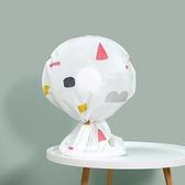 風扇罩 防塵罩 防塵套 收納袋 小 電扇罩 保護罩 換季收納 花漾 立體風扇防塵罩【N184】生活家精品