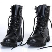 馬丁靴男靴英倫韓版馬丁靴男士真皮軍靴春季皮靴子男潮鞋高筒機車靴 coco衣巷