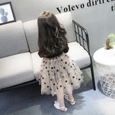 女寶寶韓版女童洋裝超洋氣小童公主裙春秋兒童裙子