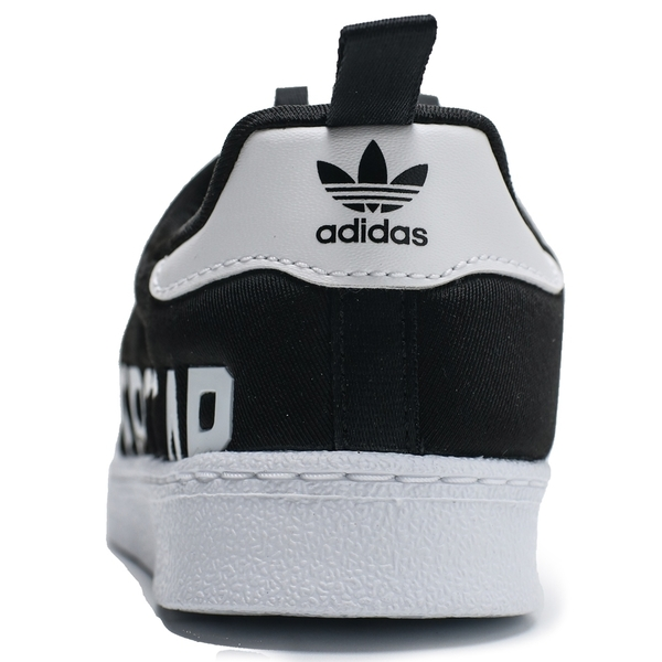 ADIDAS SUPERSTAR 360 X I 黑 白 英文字 襪套 休閒 運動鞋 小童 (布魯克林) EG3408