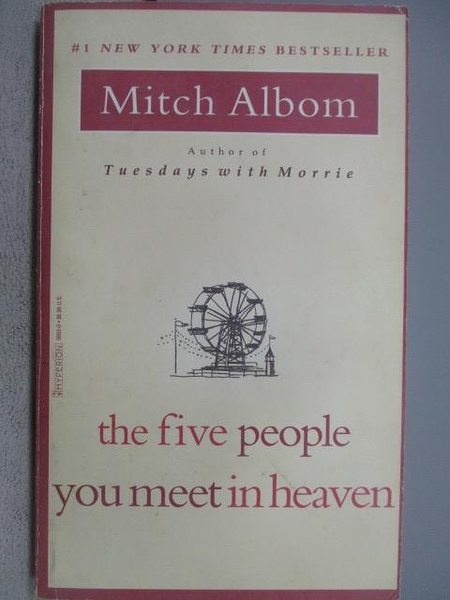 【書寶二手書T2/原文小說_MOH】The Five People You meet in heaven_Mitch A