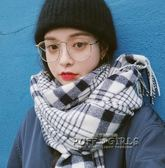 韓版潮金屬大框眼鏡原宿可愛網紅眼鏡框女 文藝復古簡約框架