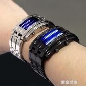 網紅新概念黑科技手錶男鎢鋼全自動酷炫光能LED特種兵ins超火電子MBS『潮流世家』