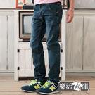 牛仔褲★日系滾邊造型口袋單寧小直筒褲● ...