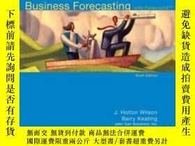 二手書博民逛書店Business罕見Forecasting With Business ForecastxY307751 J.