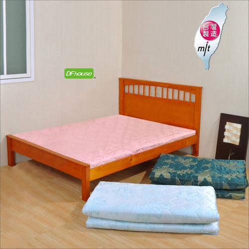 《DFhouse》黛爾夢6尺雙人緹花布透氣床墊(三色)- 孟宗竹 單人床 雙人床 床架 床組 透氣 舒適 床墊