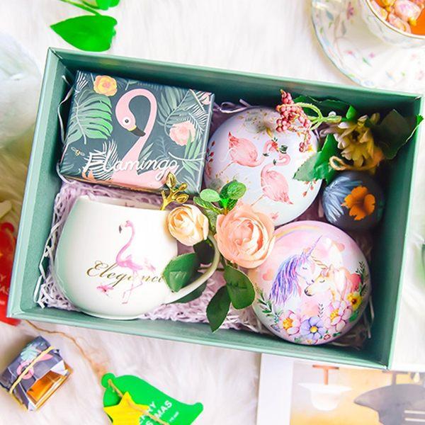 花茶禮盒 生日禮物實用送女生送閨蜜送女友媽媽禮品婚禮伴手禮【八五折限時免運直出】