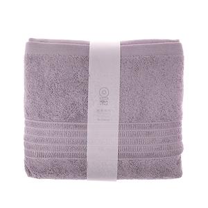 HOLA 土耳其典雅素色浴巾-淡紫78x140cm