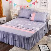 (萬聖節)席夢思床罩床裙床套單件防塵保護床單床笠1.8/1.5/1.2米