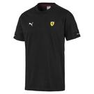 Puma Ferrari 男 黑色 短袖 法拉利 運動上衣 T桖 圓領T 運動 休閒 棉質上衣 59543602
