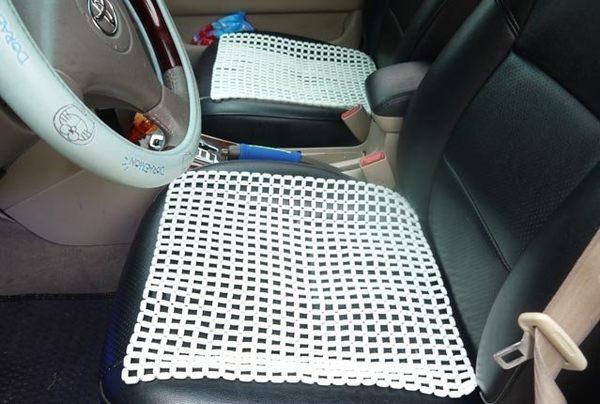 勁涼冰玉座墊(四方單片入)酷涼 保護您的座椅 舒適透氣