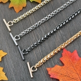 6毫米燈籠鍊OT扣鍊子包帶包包鍊條配件金屬包鍊包帶金屬包帶【免運】