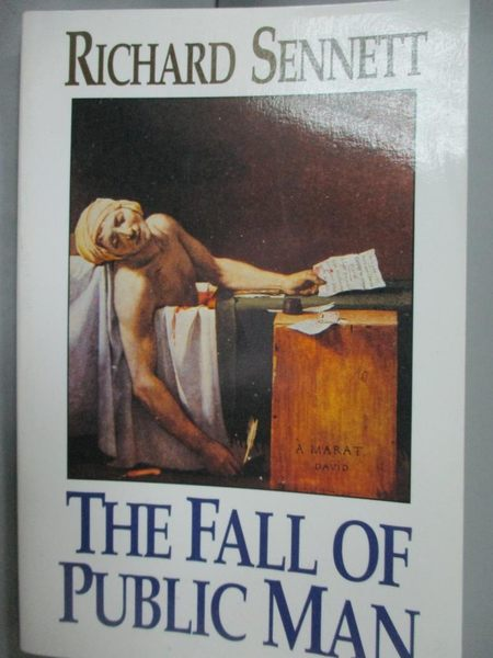 【書寶二手書T8/社會_JKB】The Fall of Public Man_Sennett, Richard