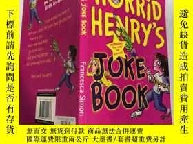 二手書博民逛書店horrid罕見henry joke book 可怕的亨利笑話書Y200392