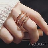 《Caroline》★韓國熱賣造型時尚 絢麗閃亮動人戒指71151