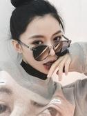 太陽眼鏡 2020新款墨鏡女韓國個性圓臉GM太陽鏡ins網紅同款偏光太陽眼鏡潮 歐歐