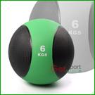 橡膠藥球6公斤(6kg重力球/太極球/健身球/重量球/平衡訓練球/健力球)