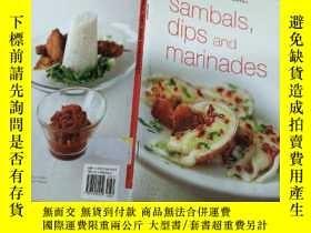 二手書博民逛書店Sambals罕見Dips and Marinades 桑巴魚浸泡和腌制Y7957 PMC PMC 出版20