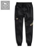 【Roush】 側口袋設計工裝彈力棉褲 -【925503】