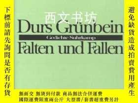 二手書博民逛書店【罕見】Falten Fallen: GedichteY2640