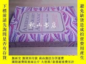 二手書博民逛書店American罕見literary almanac:from