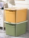 收納箱 加厚特大號收納箱家用塑料衣服清倉盒儲物玩具整理箱子周轉箱TW【快速出貨八折鉅惠】
