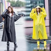 雨衣電瓶車自行車騎行單車雨披成人外套長款全身韓版雨衣徒步男女士LB15981【3C環球數位館】
