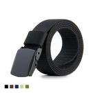 【塑鋼頭無金屬腰帶】POM塑鋼頭 可過安檢門 無段式皮帶 戰術腰帶 防過敏腰帶