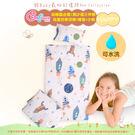 《Embrace英柏絲》100%純棉 可洗兒童抗菌除臭三件組 鋪棉床墊+涼被+枕頭 幼稚園必備