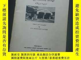 二手書博民逛書店Centennial罕見history of philippi covered bridge 1852-1952奇