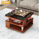 小茶幾北歐現代簡約客廳角幾小戶型家用小方桌床頭收納櫃沙發邊幾 中秋節全館免運