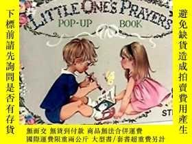 二手書博民逛書店Little罕見Ones Prayers Pop-up Book