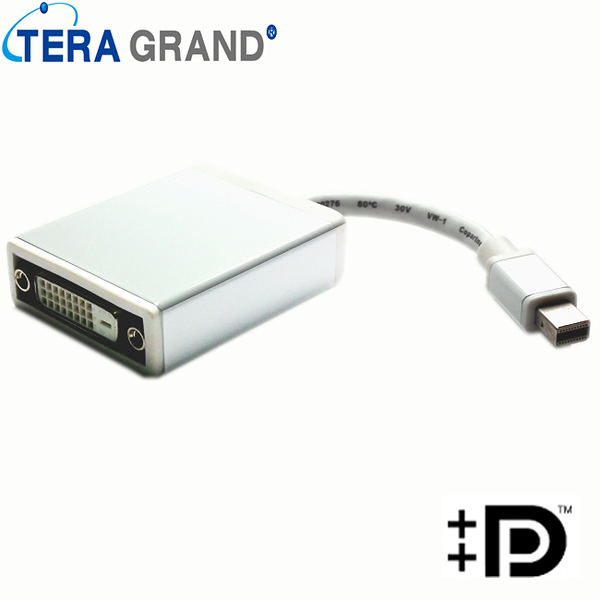 【Z-TEK】Mini Display Port to DVI 15cm (ZE-496)