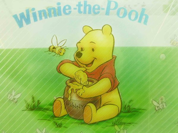 【震撼精品百貨】Winnie the Pooh 小熊維尼~名片盒附小卡-蜂蜜