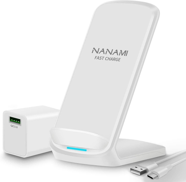NANAMI【日本代購】無線快速充電器 Qiuck Charge QC3.0 適配器-白