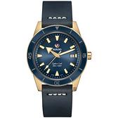 RADO 雷達 庫克船長青銅自動機械腕錶-42mm R32504205