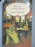 【書寶二手書T2/原文小說_NQY】 The Age of Innocence_Edith Wharton