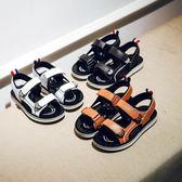 男童涼鞋2018新款正韓夏季兒童鞋子男中大童小學生防滑沙灘鞋 全館88折柜惠