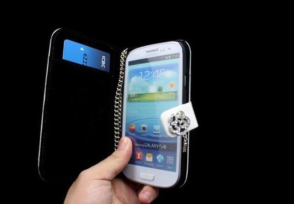 免運 任二件$900 三星Samsung Galaxy S3 /N7100 Note 2小羊皮山茶花 手機套(二件900活動此款限選一個)