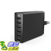 [8美國直購] 充電器 USB Charger, Anker 30W 6-Port USB Charger PowerPort 6 Lite for iPhone Xs/Xs Max/XR/X/8/7/Plus