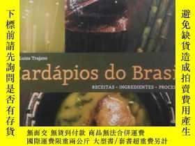 二手書博民逛書店Cardapios罕見do Brasil 外文書精裝Y178579 Cardapios Cardapios