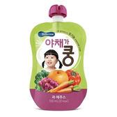 韓國 智慧媽媽 BEBECOOK 嬰幼兒綜合蔬果汁100ml(9個月以上)