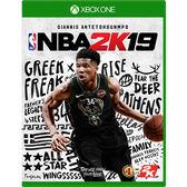 [哈GAME族]免運費●含首批預購數位內容●XBOX ONE NBA 2K19 中英文合版 美國職業籃球 9/11發售