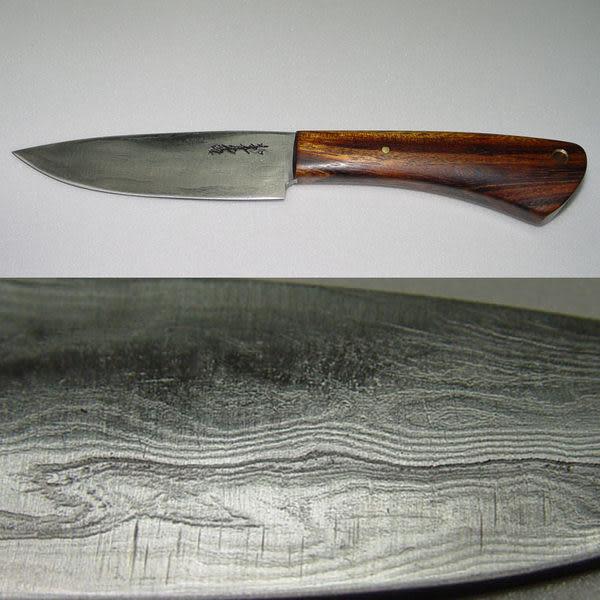郭常喜與興達刀具--郭常喜限量手工刀品-小獵刀(A0040)