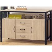 櫥櫃 餐櫃 AT-596-3 原切5尺碗盤櫃【大眾家居舘】