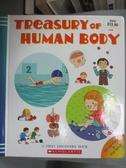 【書寶二手書T1/兒童文學_QIL】Treasury of the Human Body_Delphine Badreddine