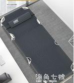 美摺疊床辦公室午休床單人床家用簡易成人午睡行軍三折床躺椅 蘇菲小店